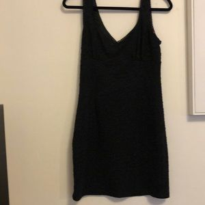 Black fitted Forever 21 dress